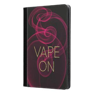 Vape On Dark Pink Smoke iPad Air Case