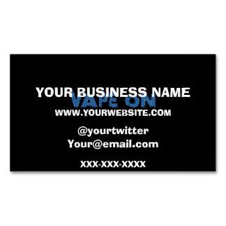 Vape On Grunge Business Card Magnet