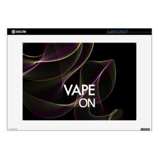 Vape On Lime Smoke Laptop Decal