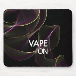 Vape On Lime Smoke Mouse Pad