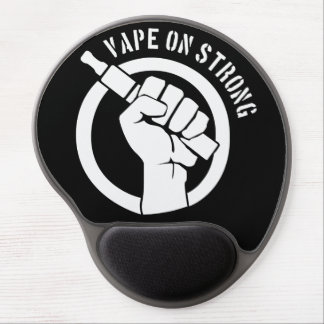 Vape On Strong Gel Mouse Pad