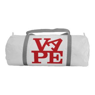 VAPE pone letras al bolso del gimnasio de la lona Bolsa De Deporte