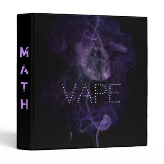 Vape Quote Avery Signature Binders