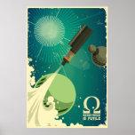 Vape Rocket - Resistance is futile Poster