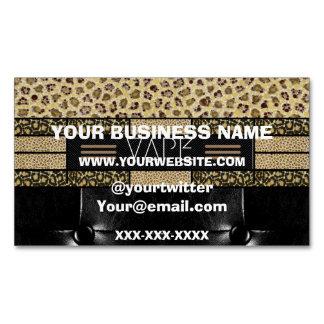 Vape Shops Template Business Card Magnet