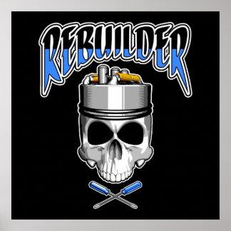 Vape Skull: Rebuilder Poster