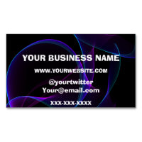 Vape Smoke Buisness Business Card Magnet