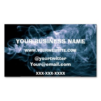 Vape Smoke Magnetic Business Cards