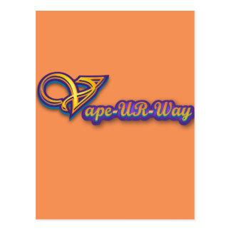 Vape-UR-Way Swag Postcard