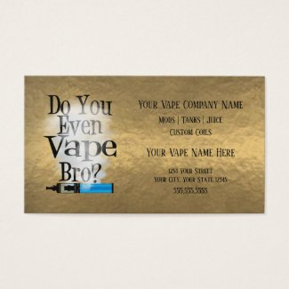 VAPE | Vape Bro Bronze Business Social Media