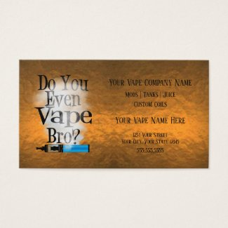 VAPE | Vape Bro Copper Business Social Media