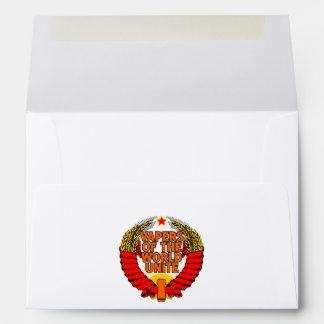 Vapers of the World Unite Envelopes