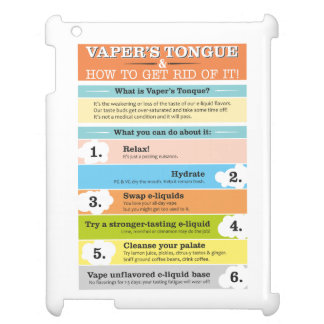 Vaper's Tongue Infographic Cover For The iPad