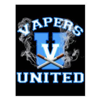 VAPERS UNITED POSTCARD