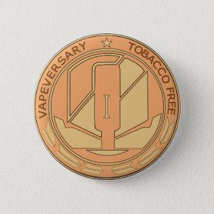 vapeversary pinback button