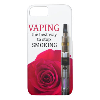 Vaping and rose flower iPhone 8/7 case