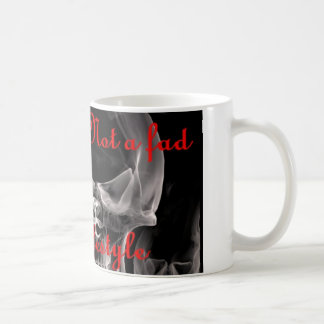 Vaping is Not a Fad, It's A Lifestyle Classic White Coffee Mug