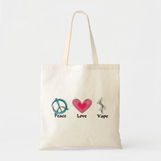 Vaping on the go tote bag