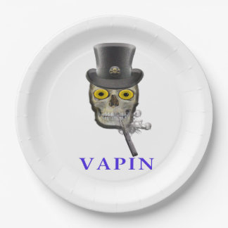 Vaping products paper plate