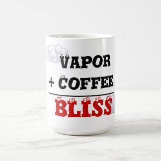 Vapor + Café = taza de la dicha