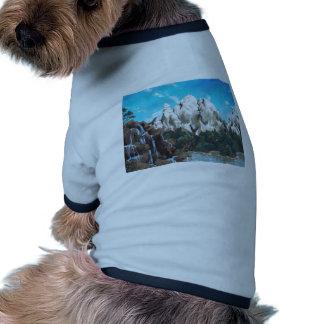 Vapor de la montaña camisa de perro