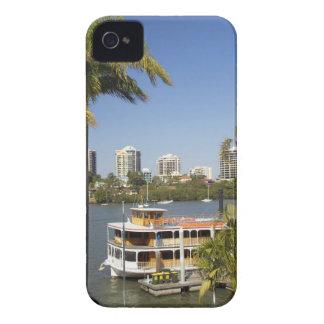 Vapor de paleta, río de Brisbane, Brisbane, Carcasa Para iPhone 4