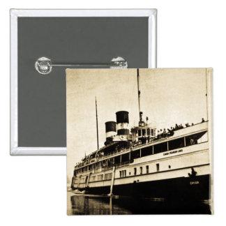 Vapor del pasajero del Cayuga - líneas de buque de Pins