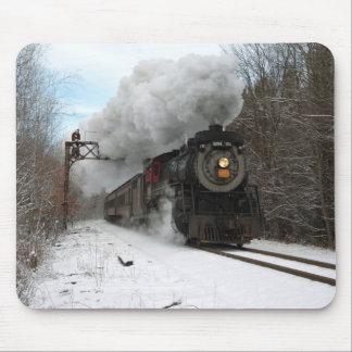 Vapor en invierno mouse pads