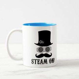 ¡Vapor encendido! Tazas De Café