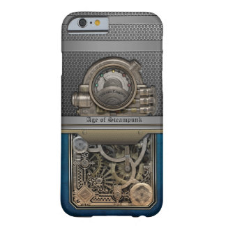 Vapor Engine.Age de Steampunk. Funda Para iPhone 6 Barely There