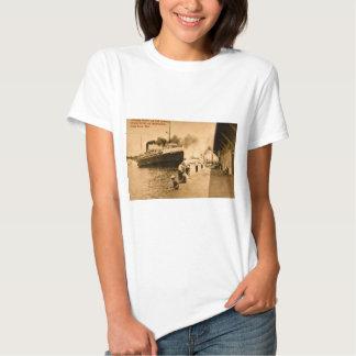 Vapor Nyack y transbordadores de coche, asilo Remera