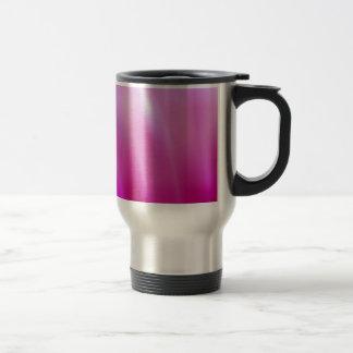 vapor rosado con pantalla grande taza térmica