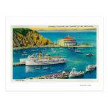 Vapores Catalina y Avalon en el embarcadero, y Postales