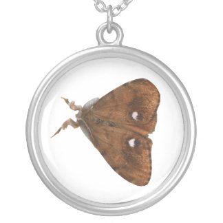 Vapourer Moth Necklace