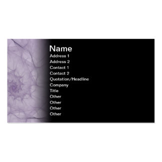 Vapours Abstract Fractal Art Double-Sided Standard Business Cards (Pack Of 100)