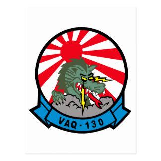 VAQ-130 Zappers Postcard