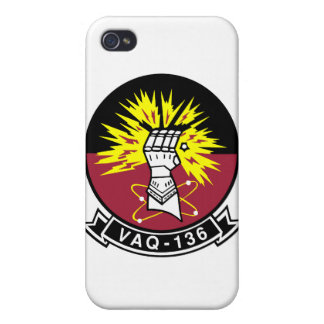 VAQ-136 Gauntlets Covers For iPhone 4