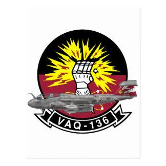 VAQ-136 Gauntlets Postcard