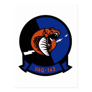 VAQ-143 Cobras Postcard