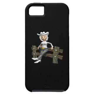 Vaquera 10 iPhone 5 Case-Mate coberturas
