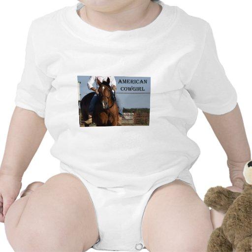 Vaquera americana traje de bebé