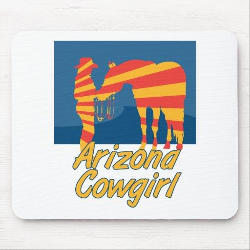 Vaquera de Arizona Tapete De Ratones