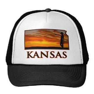 Vaquera de Kansas Gorras De Camionero