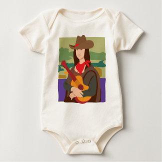 Vaquera de Mona Lisa Body De Bebé