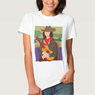 Vaquera de Mona Lisa Playeras