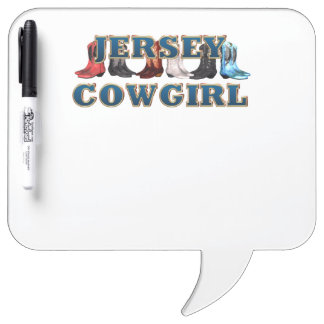 Vaquera de New Jersey de la CAMISETA Pizarras