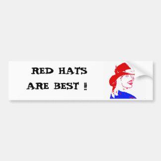Vaquera de Red Hat Pegatina Para Auto