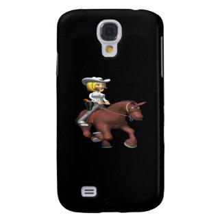 Vaquera en caballo