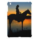 Vaquera en caso del iPad de la puesta del sol mini iPad Mini Cárcasa