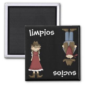 Vaquera o vaquero - lavaplatos español del en Espa Imán